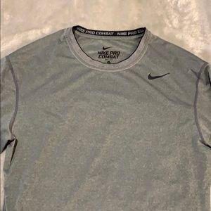 Nike Pro Combat Dri-Fit Compression Tee Shirt